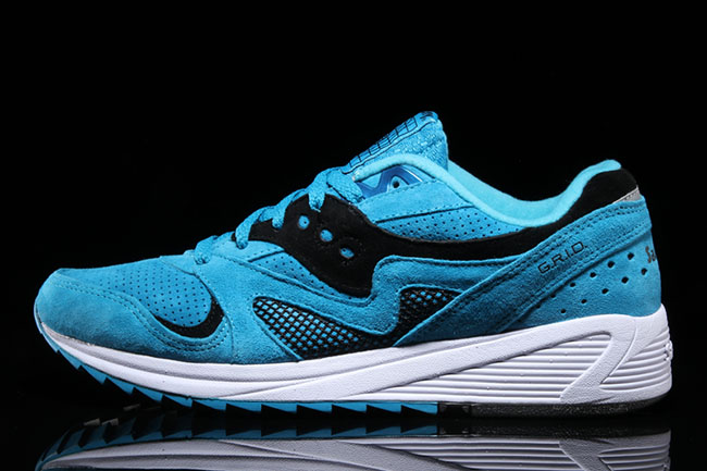 Saucony Grid 8000 Aquamarine Pack