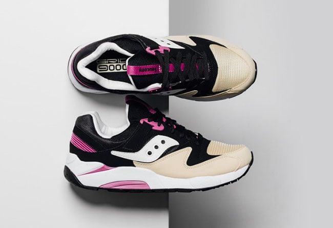 saucony grid 9000 pink