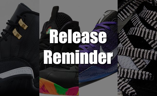 Sneakers Release February 27 2016