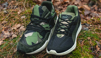 Sneakersnstuff x Puma Swedish Camo Pack