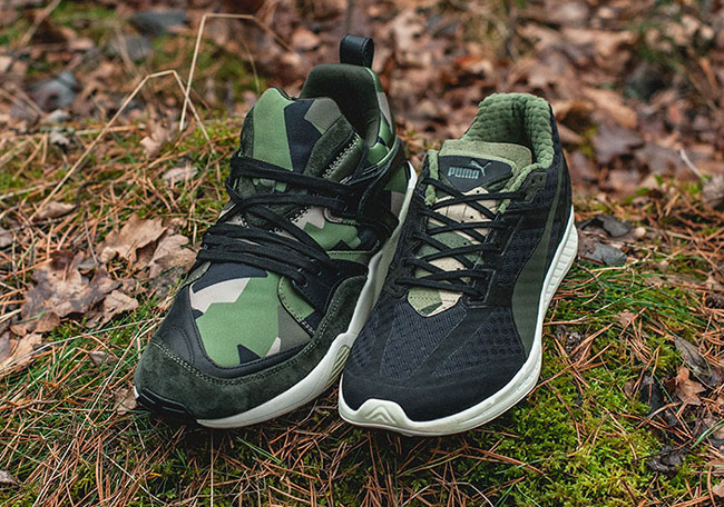 Sneakersnstuff Puma Swedish Camo Pack