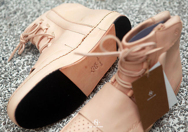 Tan Leather adidas Yeezy 750 Custom