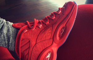 Teyana Taylor Reebok Question Red