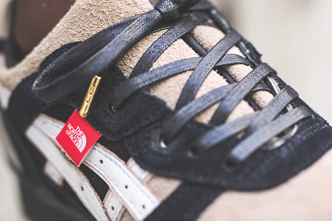 The North Face Asics Gel Lyte III Custom