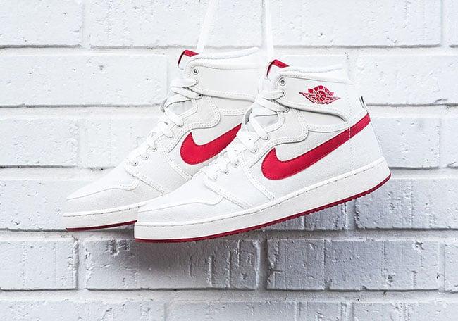 802970a84ac3 Air Jordan 1 KO OG Sail Red Release Date