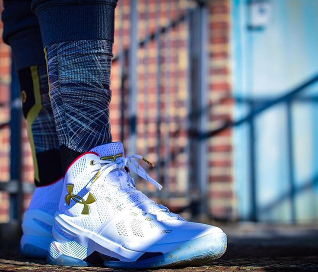 Under Armour Curry 2 All Star On Feet