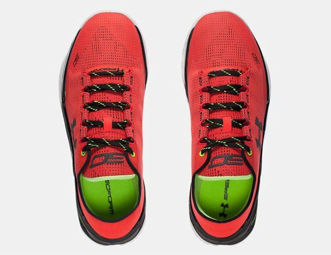 Under Armour Curry 2 Low Energy Red Black