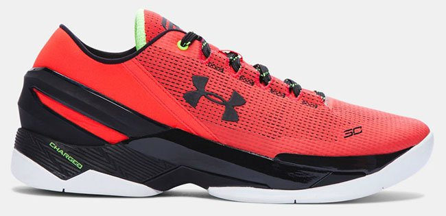 new concept 30ab5 195ca Under Armour Curry 2 Low Energy Red Black