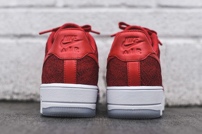 University Red Nike Air Force 1 Ultra Flyknit