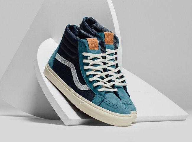 Vans Leather SK8 Hi Zip Pack