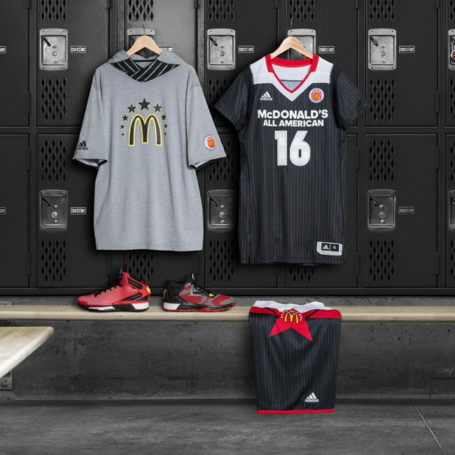adidas Basketball McDonalds D Rose 6 D Lillard 2