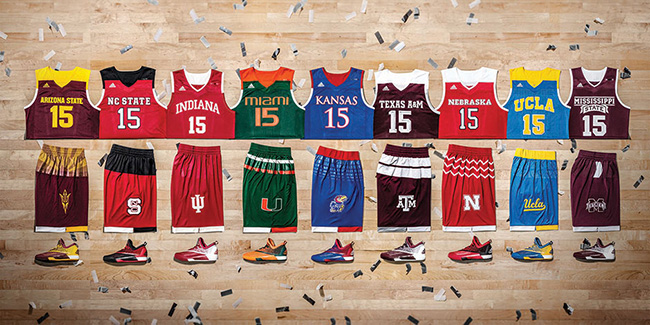 adidas Basketball March Madness 2016 Collection