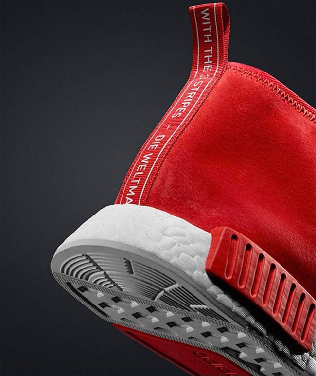 adidas NMD Chukka Red Suede