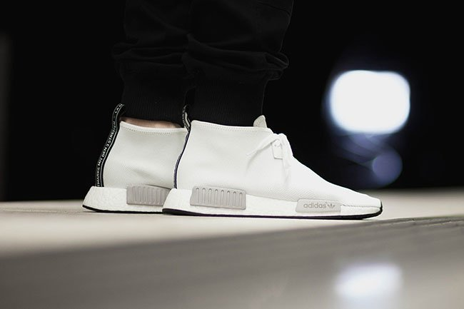 On Feet Photos of the adidas NMD Chukka Vintage White 50%OFF