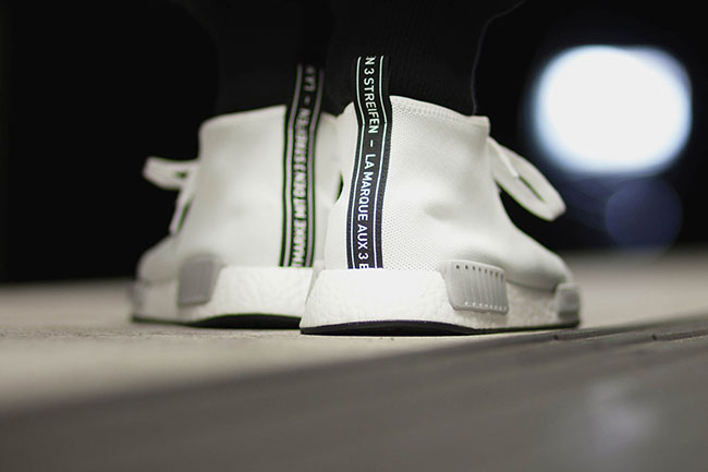 adidas NMD Chukka Vintage White On Feet