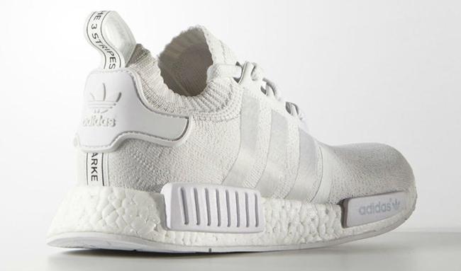 Adidas Nmd Monochrome White