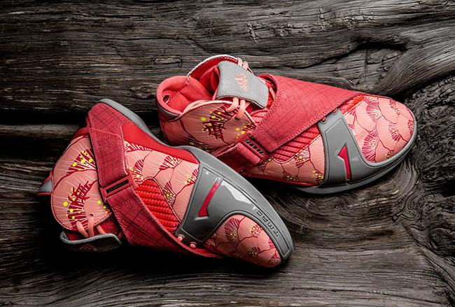 100% authentic 8b8ba 931f9 adidas T-Mac 5 Pink Floral