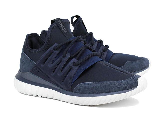 adidas tubular navy blue
