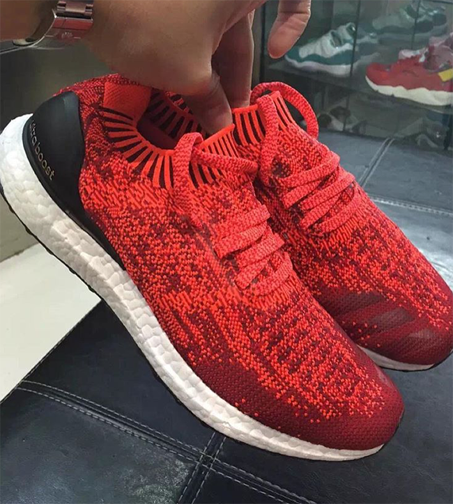 Ultra Boost Uncaged Red
