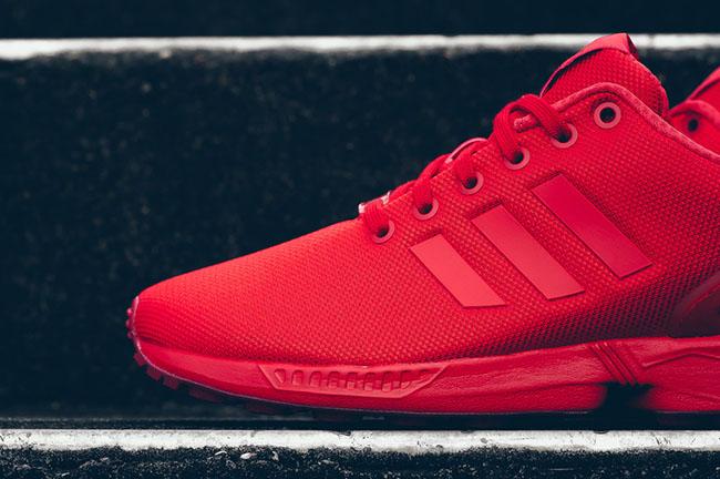 buy online 38d68 ea846 adidas ZX Flux Red | SneakerFiles