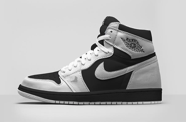 Air Jordan 1 High OG White Black 2016  01974b01a