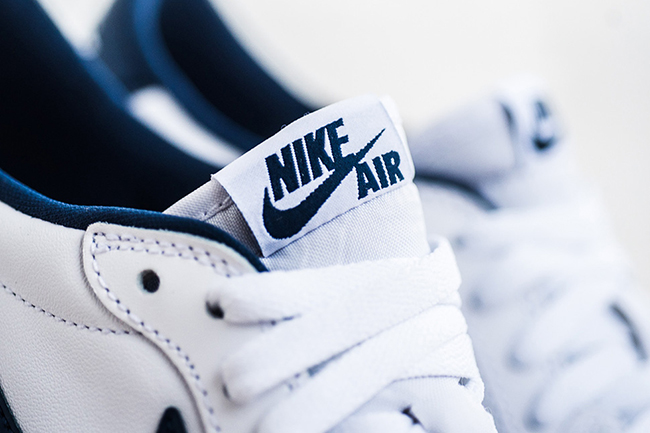 Air Jordan 1 Low Retro OG White Midnight Navy