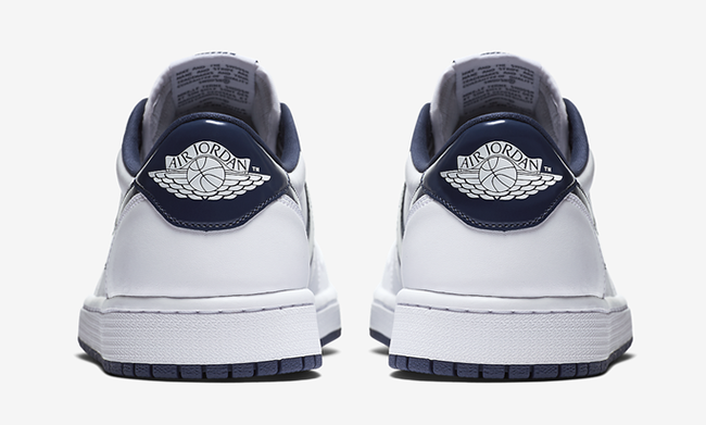 Air Jordan 1 Retro Low OG White Midnight Navy