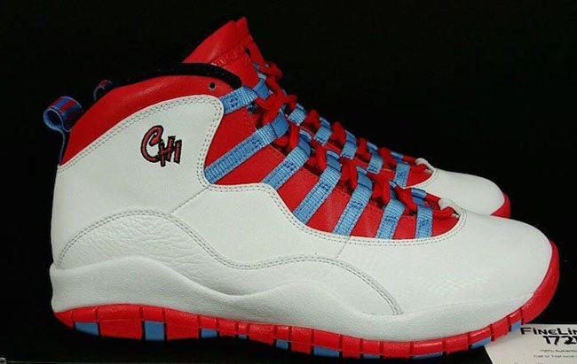 Air Jordan 10 Chicago Flag City 2016