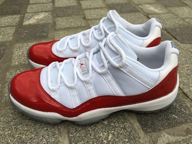 Air Jordan 11 Low Varsity Red Cherry 2016
