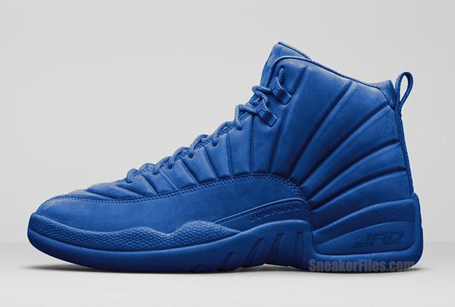 Air Jordan 12 Blue Suede