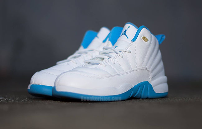 Air Jordan 12 Kids University Blue