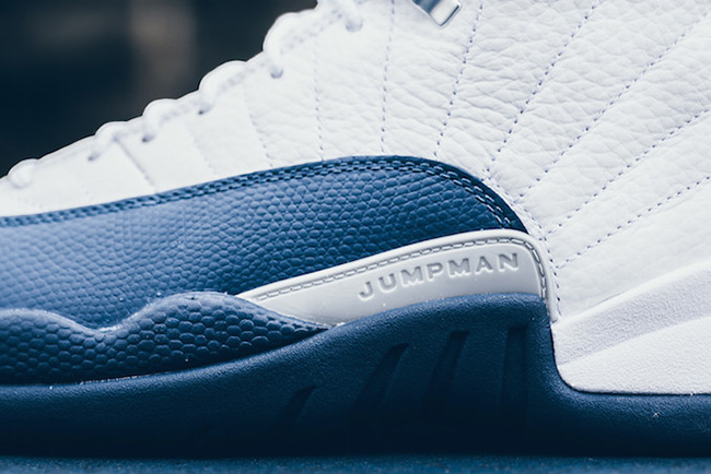 Air Jordan 12 Retro French Blue Release