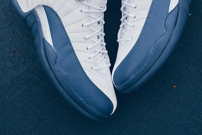 Air Jordan 12 Retro French Blue Release