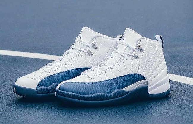 e2b648b841c1 Air Jordan 12 Retro French Blue Release
