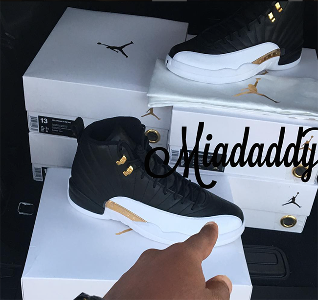 da237ddaf72738 Air Jordan 12 Wings Black Gold