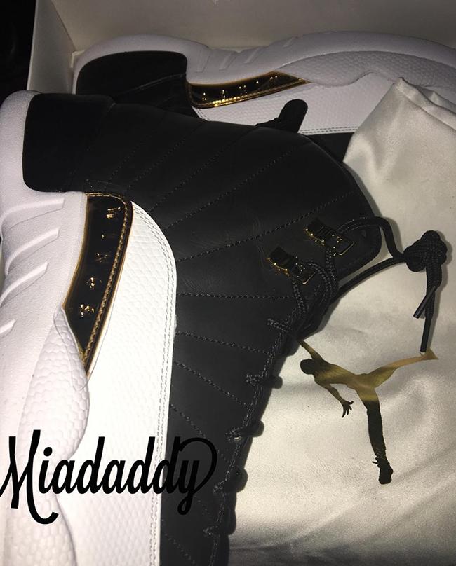 Air Jordan 12 Wings Black Gold