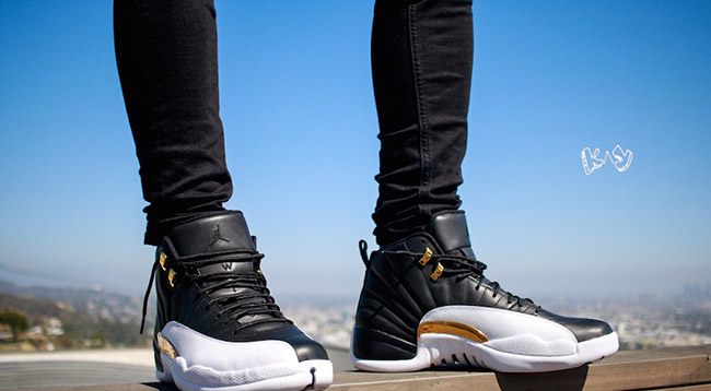 Air Jordan 12 Wings On Feet