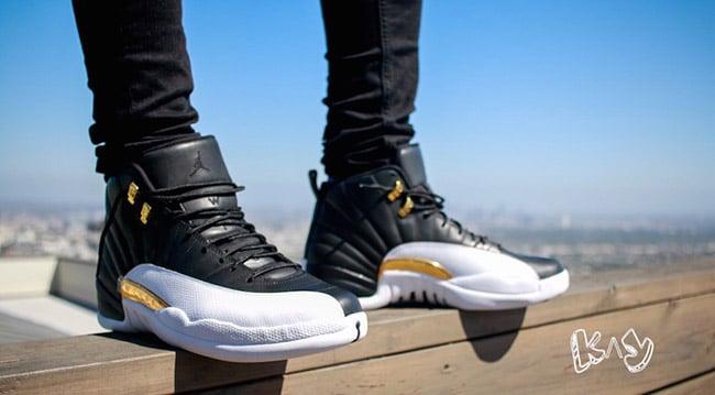 Jordan 12 On Feet