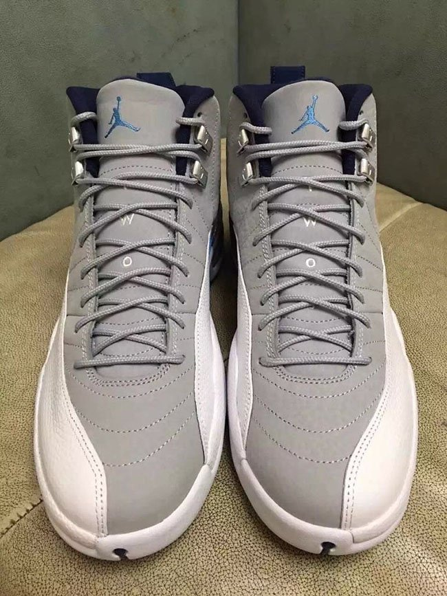 Air Jordan 12 Wolf Grey University Blue 2016