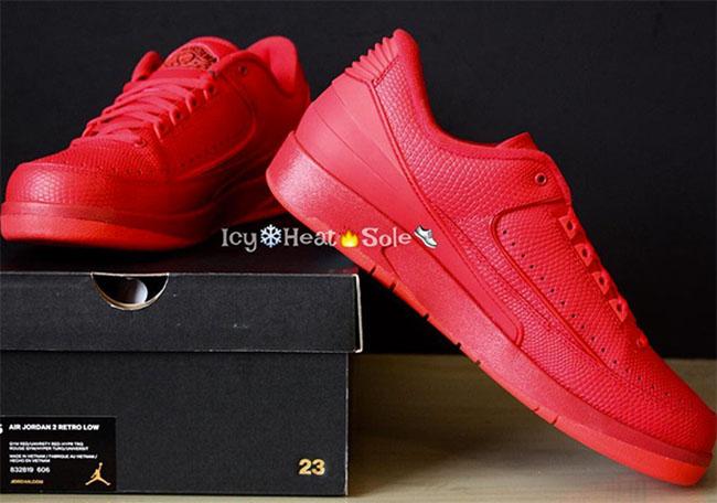 Air Jordan 2 Gym Red