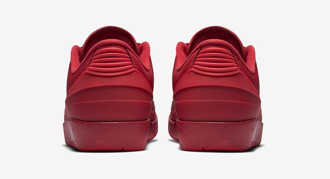 Air Jordan 2 Low Red 2016
