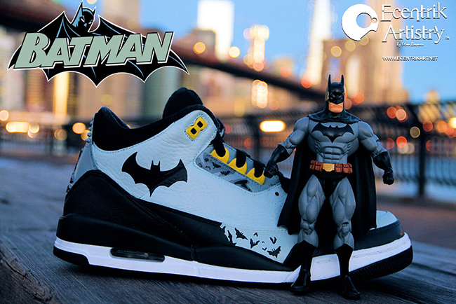 Air Jordan 3 Batman