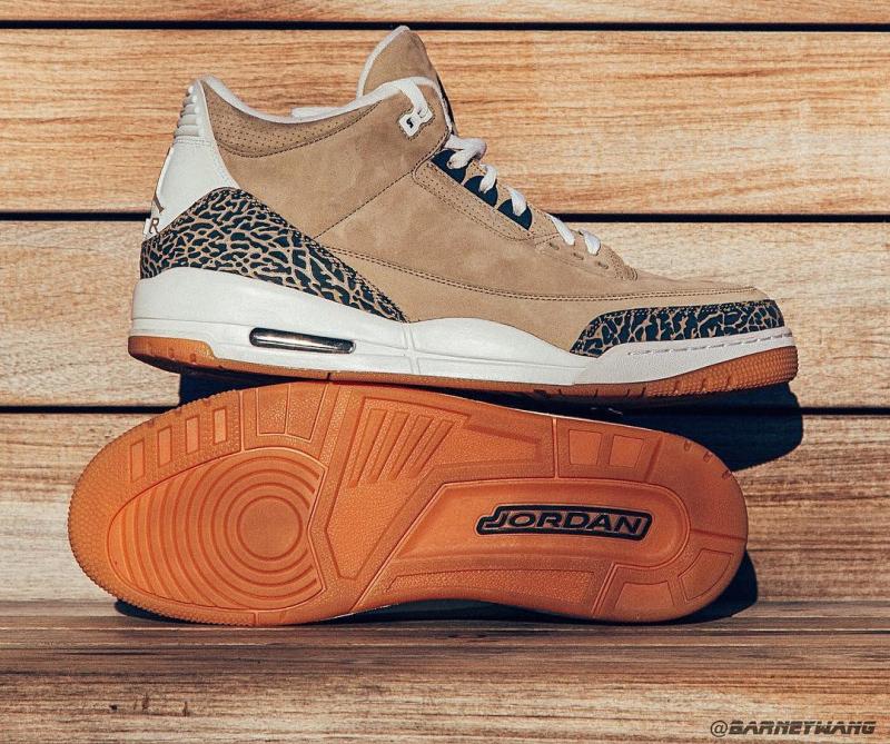 Air Jordan 3 Khaki Suede Sample