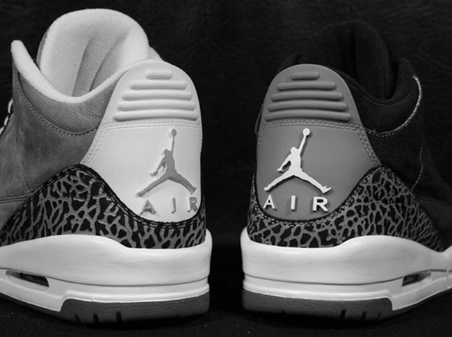 Air Jordan 3 Wool Dark Grey