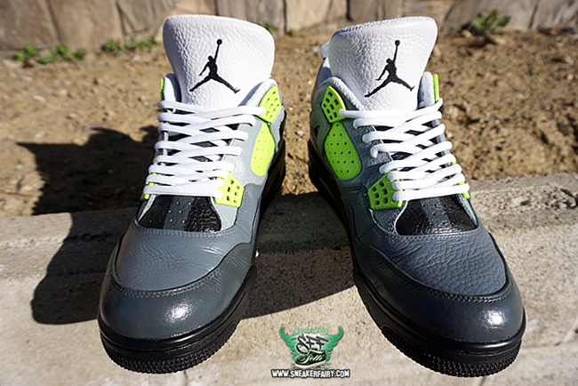 Air Jordan 4 Air Max 95 Custom