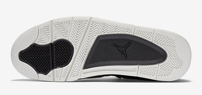 Air Jordan 4 Premium Black Pony Hair