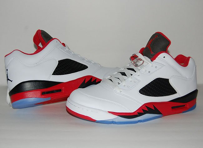 best cheap 39d30 5cd73 Air Jordan 5 Low Fire Red Review