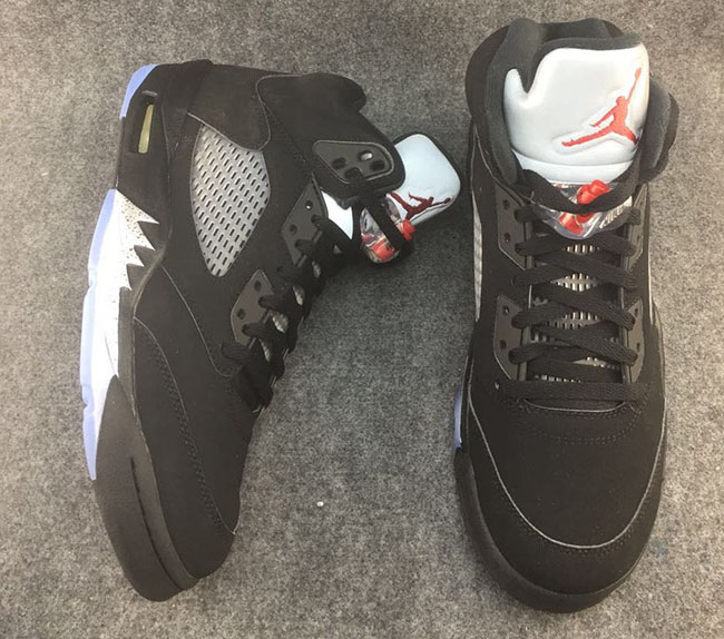 Air Jordan 5 OG Black Metallic 2016
