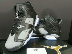 Air Jordan 6 GS Black Cool Grey