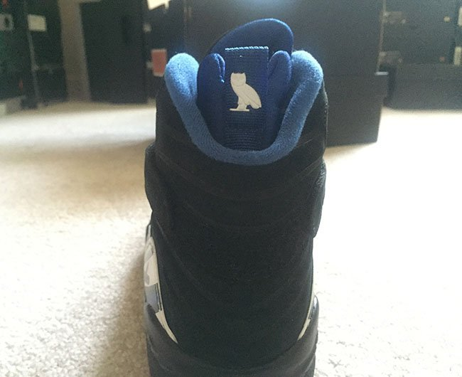 Air Jordan 8 OVO Black Kentucky Blue